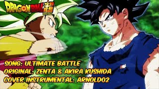 DRAGON BALL SUPER - Goku vs Kefla - Ultimate Battle (Zenta & Akira Kushida) - Cover por Arnold02