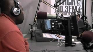 Radio talk show live on air intro