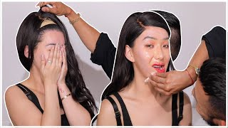 MY BOYFRIEND TAKES MY MAKEUP AND WIG OFF!