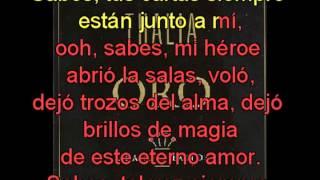 Thalia  Sangre con letra