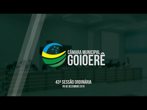 Vídeo na íntegra da Sessão Ordinária da Câmara Municipal de Goioerê dessa segunda-feira, 09