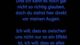 Glasperlenspiel - Echt lyrics