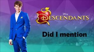 Descendants - Did I Mention (Paroles)