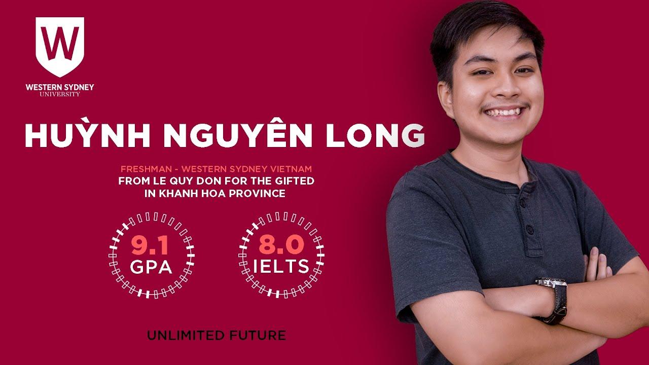 Huỳnh Nguyên Long – Khóa 11 – GPA 9.1 – IELTS 8.0 – THPT Chuyên Lê Quý Đôn (Khánh Hòa)