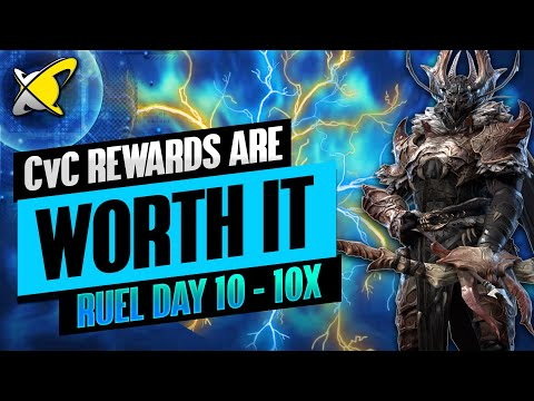 I TRIED SO HARD... AND IT WAS WORTH IT | Ruel The Huntmaster Day 10 | RAID: Shadow Legends
