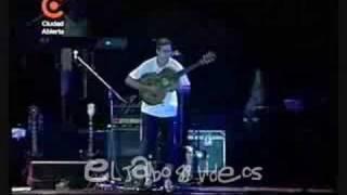Manu Chao - Madjid Guitar Solo