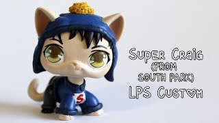 Super Craig from South Park LPS Custom