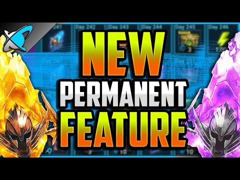 MAJOR NEWS | New PERMANENT REWARDS Feature !! | RAID: Shadow Legends