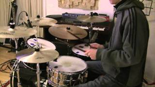How To Play Fight For Your Right by Beastie Boys on Drums - The Drum Ninja - Lesson
