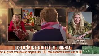 Návai Anikó szerint Elton John akár Budapestre is ellátogathat világkörüli turnéjával - tv2.hu/mokka