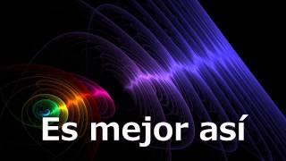 Es mejor así - Cristian Castro ft. Reik (Letra) 2013