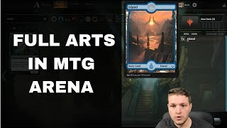How To Use Any Basic Land Art You Want In MTG Arena!