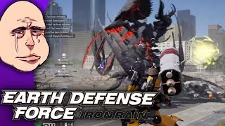 [Criken] Earth Defense Force - Iron Rain :  THE END OF EDF