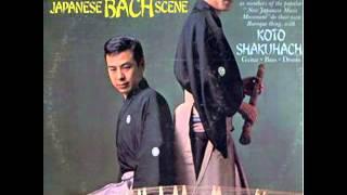 Koto Shakuhachi - Japanese Bach scene 1969