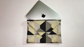 Tuto Couture Madalena - Coudre Une  Housse Pour Tablette iPad