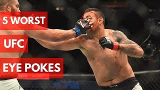 5 Worst UFC Eye Pokes Ever