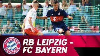 RB Leipzig vs. FC Bayern 0:2 | Highlights | Under-17 Semi-Final - Second Leg