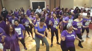 Doin' Me Line Dance @ All SNAP Meet & Greet in Cali 2016 - New Orleans, LA