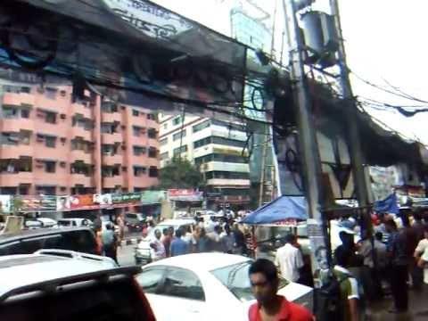 アキーラさんデモ遭遇!バングラデッシュ・ダッカ!Demo,Dahka,Bangladesh