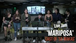 Cast of 'Sa Wakas' – 'Mariposa'