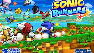 """Sonic Runners """"Where to Today"""" Music"""