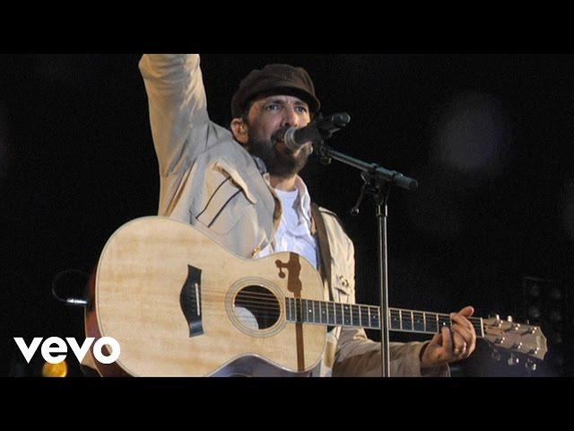 Ójala que llueva café (live) Juan Luis Guerra