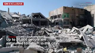 Video shows parts of ISIS' de-facto capital in ruins