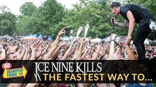 Ice Nine Kills - The Fastest Way to a Girl's Heart is Through... (Live 2014 Vans Warped Tour)