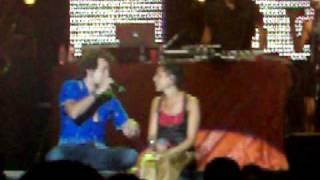 La Mari (Chambao) y Mario Diaz concierto Chambao Estepona