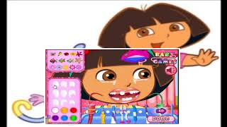Dora Dentist   Dora The Explorer   Doctor Games For Kids
