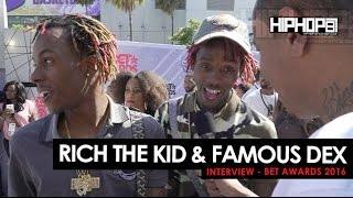 Rich The Kid & Famous Dex Talk Their Upcoming Project 'Rich Forever 2' & More At The 2016 BET Awards