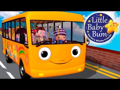 Wheels On The Bus | Part 5 | Little Baby Bum | Nursery Rhymes for Babies | Videos for Kids - YouTube