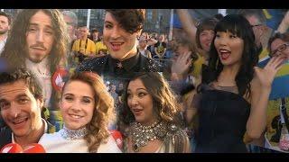 #Eurovision contestants react to Dami Im-Sound of Silence/AUS 2016