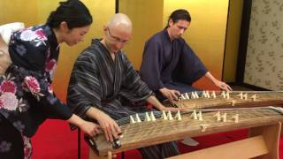 Learn to play KOTO, Sokyoku, Japanese Traditional Music Experience
