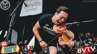 """Yellowcard - """"Lights And Sounds"""" LIVE! @ Warped Tour 2016"""