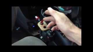 Axxess universal car amplifier bass rca gain level volume c