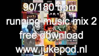 90/180 bpm running music mix 2