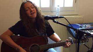 Solomon Burke-Cry to me ( Acoustic guitar Cover) Renee B