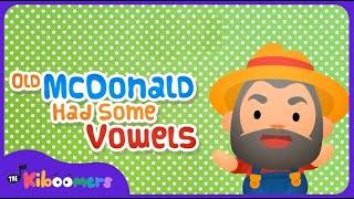 Old MacDonald Had Some Vowels | AEIOU | Vowels | Phonics | The Kiboomers
