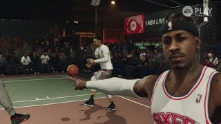 NBA Live 18 The One Gameplay & Walkthrough *Exclusive* LIVE LEGENDS!
