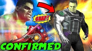 The Russos CONFIRM The Hulks Arm was Destroyed in EndGame & Hint at NEW ARM!
