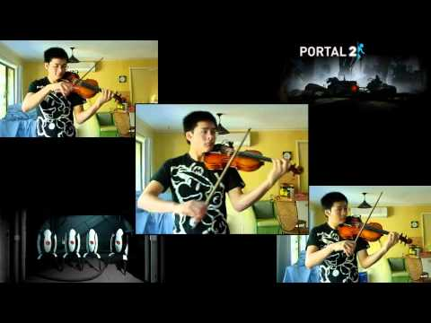 Portal 2 - 'Turret Wife Serenade' Violin Cover Chords - Chordify