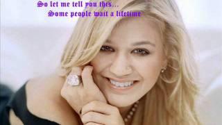 Kelly Clarkson-A Moment Like This Lyrics