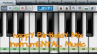 HappY BirthdaY PianO NOteS