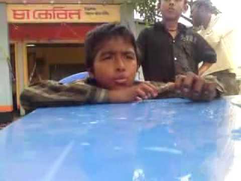 Kid singing again in Srimongal Bangladesh