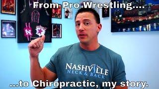 El luchador Andy Douglas se convierte en quiropráctico