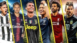 Messi vs Ronaldo vs Salah vs Mbappe vs Neymar vs Dybala ...- Despacito & Faded| best Goals 2018