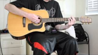 Sex And Candy Acoustic Guitar Cover