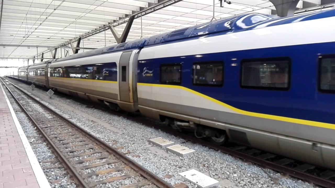 Eurostar E320 testride