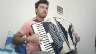 Despacito acordeon. Practicando un rato